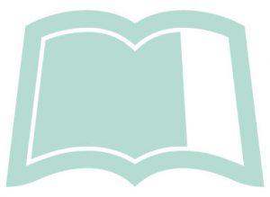 Icon offenes Buch, gross, blass grün, steht z.B. Selbstpräsentation, Training & Seminare, Veranstaltungen und Kurse für Privatpersonen und Unternehmen
